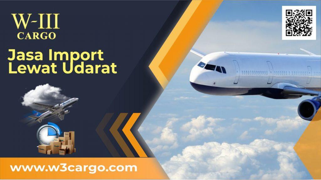 Layanan Sewa Cargo Udara Murah dan Resmi Untuk Kebutuhan Import